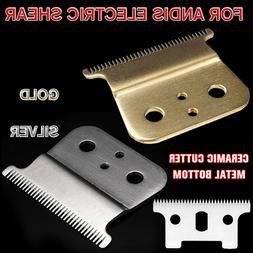 1/2pcs Strong Barber Ceramic Shop Cutter Metal Bottom Cutter