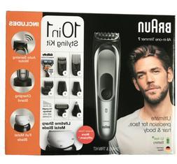 10 in 1 beard trimmer for men