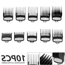 10X Professional Cutting Hair Clipper Premium Guides Combs G