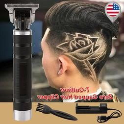 2020 New Cordless Zero Gapped Trimmers Portable Hair Clipper