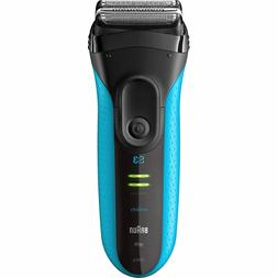 Braun 3040s Series 3 Electric Shaver, ProSkin Rechargeable W