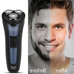 FLYCO 3D Cordless Electric Shaver Razor Washable Trimmer For