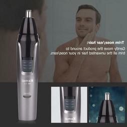KEMEI 3in1 Men Nose Ear Trimmer Electric Sideburns Eyebrows
