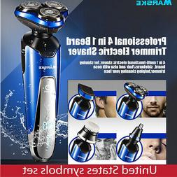 4 in 1 Men Beard Trimmer Electric Shaver Beard Trimmer Profe