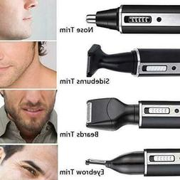 4 in 1 Rechargeable Hair Eyebrow Ear Nose Beard Trimmer Elec