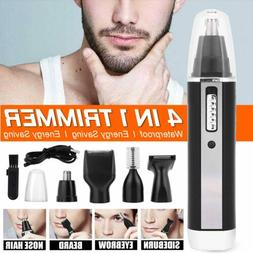 4 in 1 Rechargeable Hair Trimmer Electric Mens Ear Nose Eyeb