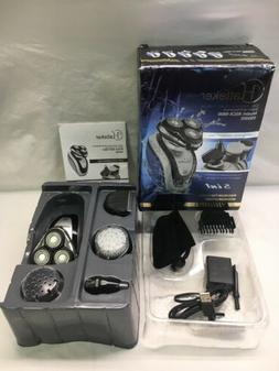 Hatteker 5 In 1 Hair And Beard Trimmer Shaver And Face Brush