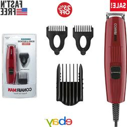 5 Set Clipper Combs Size Kit Barber Hair Haircut Beard Musta