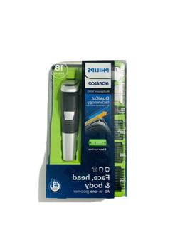 Philips Norelco 5000 Multigroom Hair Trimmer with 18 Attachm