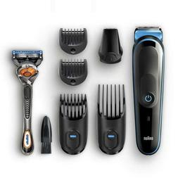 Braun 7-in-1 All-In-One Trimmer MGK5045, Beard & Hair Clippe