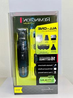 Remington 7 in 1 Head to Toe Grooming Trimmer Kit Lithium Po