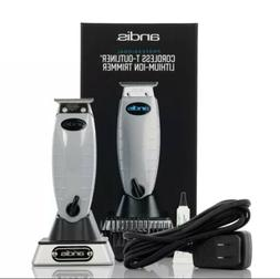 Andis 74000 Professional Cord/Cordless T-Outliner Beard & Ha