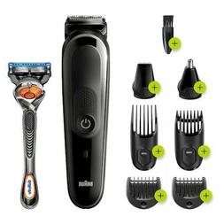 Braun 8-in-1 Trimmer Hair Clipper for Men MGK5260