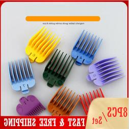 8PS Universal Hair Clipper Limit Combs Guide Attachment for