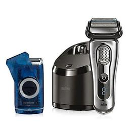 Braun 9095cc Series 9 wet and dry electric shaver with M60 s