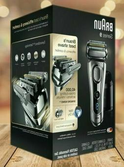 Braun 9290CC Series 9 Electric Shaver with Wet & Dry Technol