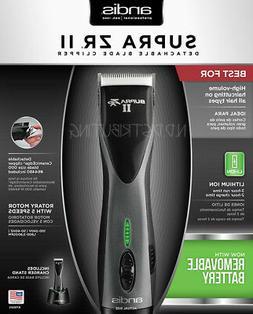 Andis 79005 Supra ZR II CORDLESS Ion Clipper DBLC -2