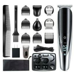 hatteker hair clipper beard grooming cordless men