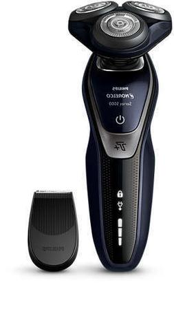 NEW - Philips Norelco Turbo+Power Shaver 5550 Wet & Dry S559