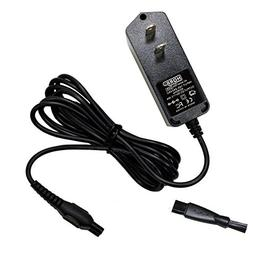 HQRP AC Adapter Power Cord Charger for Philips Norelco 6709X