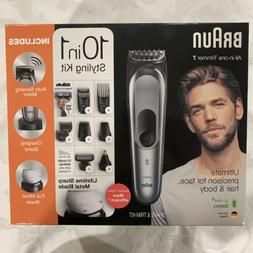 Braun All-in-one Trimmer 7 MGK7221 Haircutting and Beard Kit
