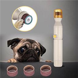 Amyove Automatic Electric Pet Pedicure Grinder Trimmer Pet C