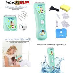 Baby Kids Hair Clipper Trimmer Cordless Quiet Safe Health Ch