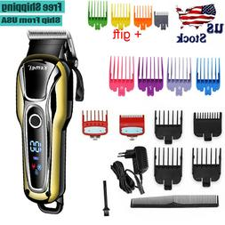 Barber Professional Cordless Electric Hair Clipper Trimmer B