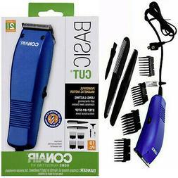 CONAIR Basic 10 Piece Corded Men Hair Clipper Grooming Trimm