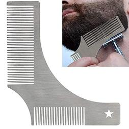 Beard Shaping & Styling Tool Edger Template Comb - Mustache
