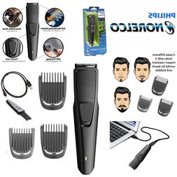 Philips Norelco Beard Trimmer w/ 3 Attachments Cordless Hair
