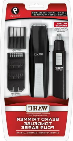 Wahl Beard Trimmer with Ear/ Nose Trimmer Model 3249