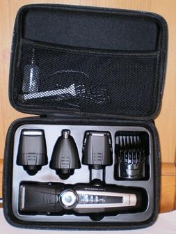 SUPRENT Beard Trimmer with Travel Case,Cordless 4 in 1 Body