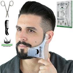 BEARDCLASS Beard Shaping Tool - 8 in 1 Comb Multi-liner Bear