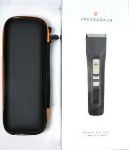 BRIO Beardscape Men's Beard & Hair Digital Trimmer With Trav
