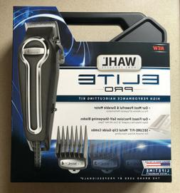 BRAND NEW Wahl Elite Pro Clippers Complete Hair Cutting Kit