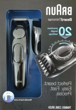 🔵Braun BT3020 Men's Beard Cordless Rechargeable Trimmer -