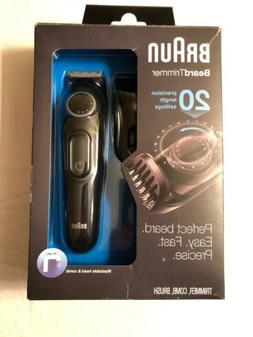 Braun BT3020 Men's Beard Trimmer Cordless Rechargeable Trimm