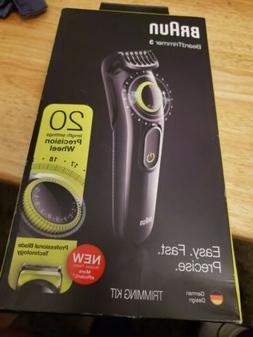 Braun BT3221 Beard Hair Trimmer Cordless Rechargeable Trimme