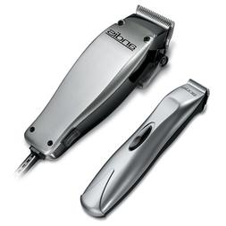 Andis 23-Piece Clipper/Trimmer Combo Haircutting Kit, Silver