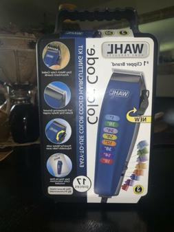 Wahl Color Code 17pc Professional Hair Clippers Trimmers Com