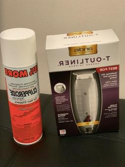 Combo: Andis T-Outliner Trimmer and Clippercide Spray Free S
