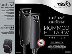 Oster Common Wealth Fast Feed Clipper + T-Finisher Trimmer B