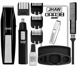 Wahl Hair Cutting Machine Kit Shaving Grooming Beard Ear Nos