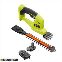 Ryobi Cordless Grass Shear Bush Shrub Trimmer Hedger with Ba
