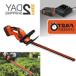 Cordless Hedge Trimmer With Battery And Charger Included 40V