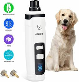 Dog Nail Grinder 2-Speed Dog Nail Trimmers 2020 Newest Recha