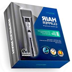 Electric Cordless Hair Clipper USB Rechargeable Waterproof H