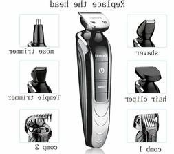 Electric Hair Trimmer Professional Precision Clipper Waterpr
