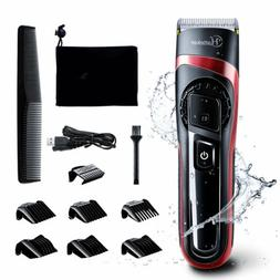 Hatteker Electric Hair Cut Clipper Men's Beard Shaver Machin